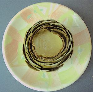 plate by Sabina Teutenberg