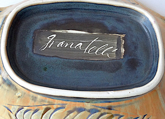 footed bowl by Silvie Granatelli