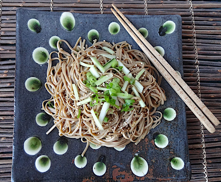 Tossed Soba plate by Michael Hunt & Naomi Dalglish