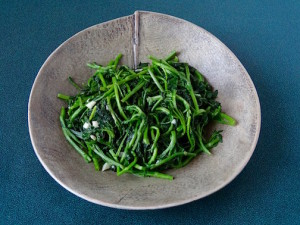 Sautéed Watercress Bowl by Mary Barringer