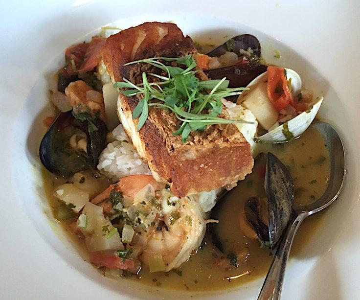 Chupe de Mariscos (Seafood Chowder)