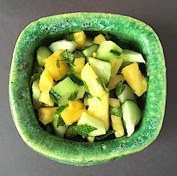 Cool summer salad Bowl by Scott Chamberlin