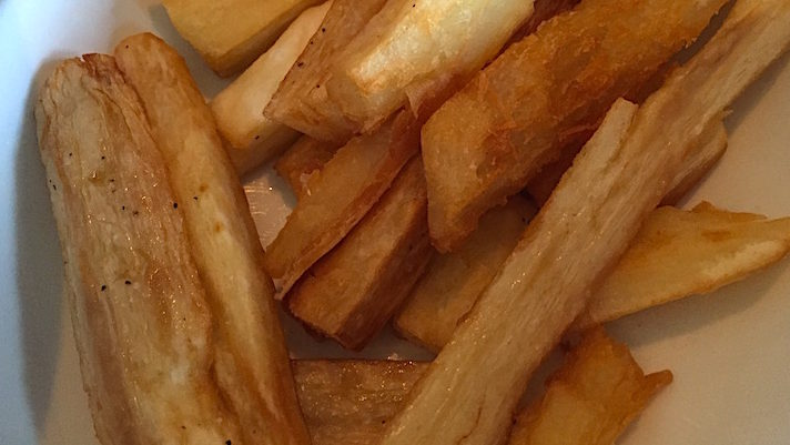 Yucca Fries - crispy and tender